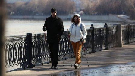 В 2017 году в Подмосковье откроется десять школ скандинавской ходьбы для людей с диабетом